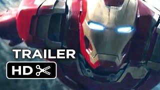 Avengers: Age of Ultron Official Extended Trailer (2015) - Avengers Sequel Movie HD