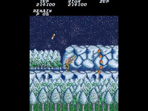Arcade Longplay [209] Contra