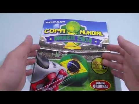 Complete Album 100% World Cup 2014 Brazil Copa Mundial Capri Brasil Navarrete 1