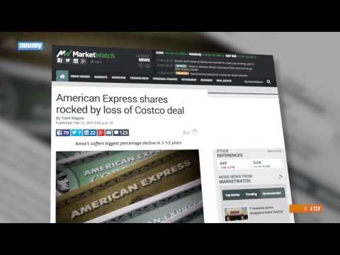 American Express Stock Plunges With Costco Deal Set To End