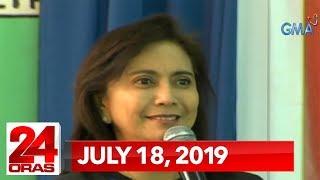24 Oras: July 18, 2019 [HD]