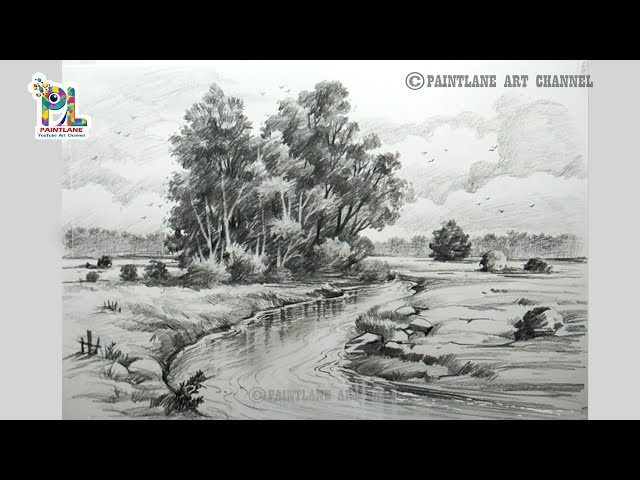 Learn  Drawing and Shading with Pencil  Step by Step Pencil Sketching Art