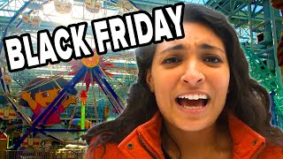 We Survived Black Friday At The Biggest Mall in America