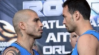 Miguel COTTO vs. Delvin RODRIGUEZ Official Weigh-In *RAW & UNCUT*
