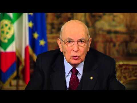 Messaggio di fine anno del Presidente della Repubblica Giorgio Napolitano - 2013