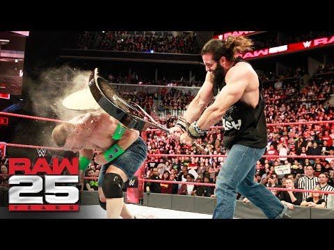 Elias disrespects John Cena: Raw 25, Jan. 22, 2018