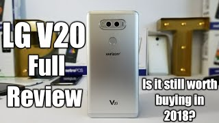 LG V20 Full Review is it still worth buying in 2018??