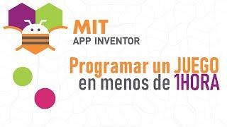 Tutorial MIT Cómo programar un juego en app inventor Proyectos faciles app inventor en español