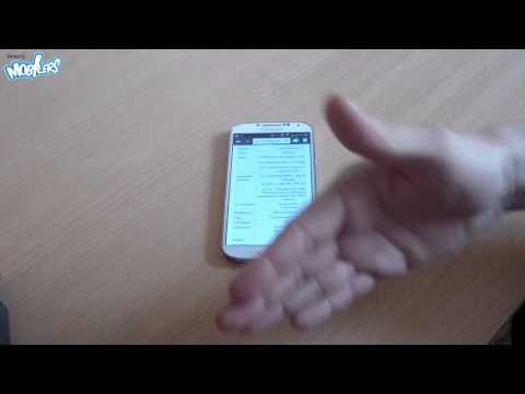 Samsung Galaxy S4 Air Gestures motion control (demo)
