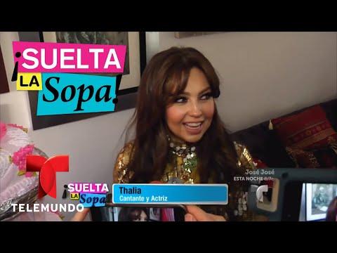 Thalía celebra los 100 anos de su abuela | Suelta La Sopa | Entretenimiento