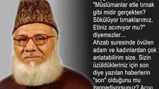 Şeyh Motiur Rahman Nizami - Son Mektup - Seslendiren: Galip MARLALI