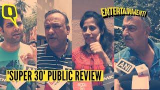 Inspirational and Motivating: Audiences Praise Hrithik's 'Super 30' | The Quint