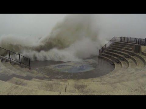 Japan's main islands brace for powerful typhoon