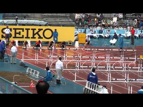 "Liu Xiang in 13""09 on 110h in Kawasaki (JPN)"