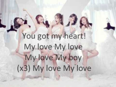 Girl's Day - Cupid Acoustic Ver. (lyrics On Screen) City Hunter Ost video