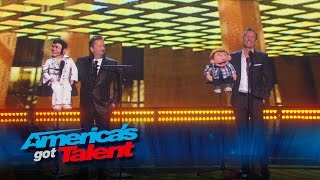Paul Zerdin  Terry Fator Joins Ventriloquist Onstage   America