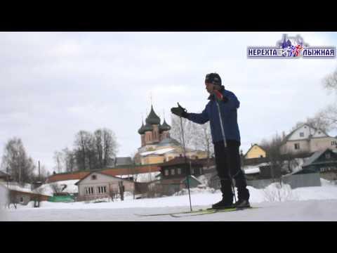 Видео как научиться ездить на лыжах