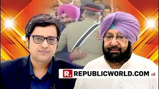 Captain Amarinder Singh Speaks Exclusively With Arnab Goswami, Slams Rahul Gandhi
