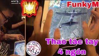 Tik Tok Free Fire   Lộ Thao Thác Tay 4 Ngón Của Idol FunkyM (Quá Gê)   Ngọc K9