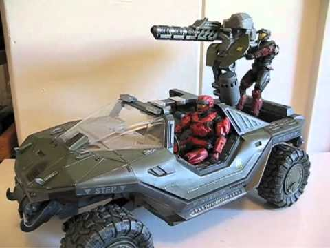 McFarlane Halo Reach Gauss Cannon with Spartan Operator