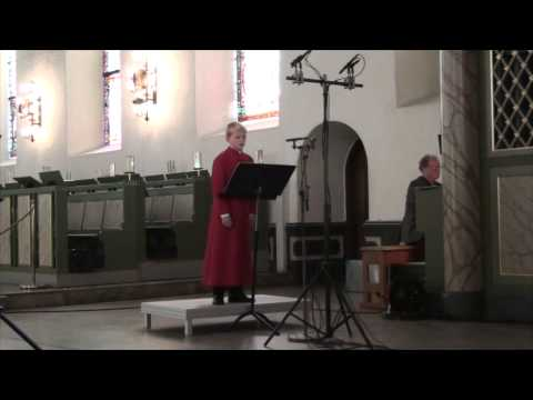 Ave Maria (Bach/Gonoud) - Aksel JS Rykkvin (11 1/2 years old boy soprano) - oct 2014