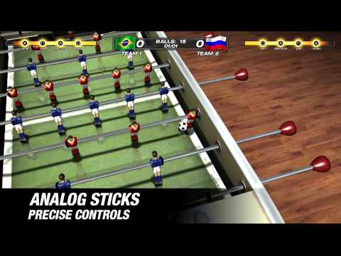 Foosball 2012 for PS3 and PS Vita: Announcement trailer