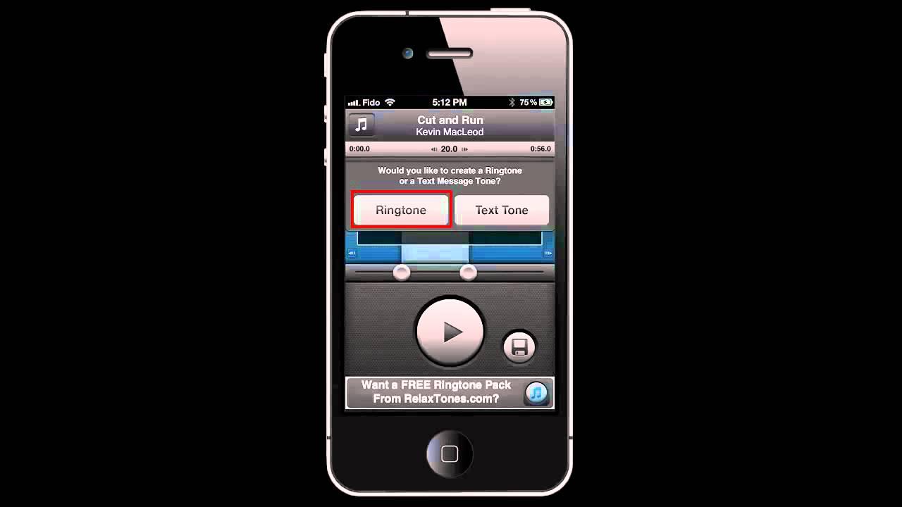 Как сделать ренгтони на мобільний