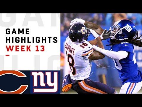 Bears vs. Giants Week 13 Highlights | NFL 2018 MP3