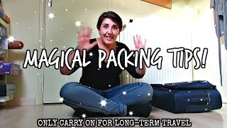 Packing a Carry On | Long-term Travel Tips (Summer)