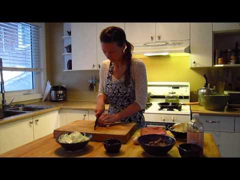 Warm Walnut Kale Salad - Health Conscious Recipes www.jelambleconcepts.com