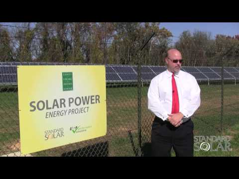 Sandy Spring Friends School Solar Array Powers Ahead