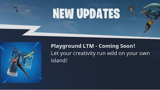 "Fortnite ""PLAYGROUND MODE"" Has Finally Been Announced!"