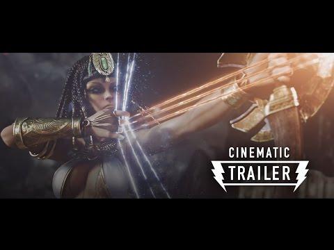 SMITE Cinematic Trailer 'Battleground of the Gods'