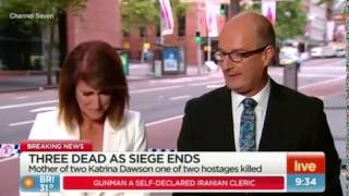 Devastated Sunrise host Natalie Barr breaks down on live TV as she realises her personal connection