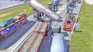 ETS2 Multiplayer - Idiots on Road #6 (Euro Truck Simulator 2 Multiplayer)