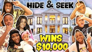 EPIC HIDE AND SEEK IN A MANSION