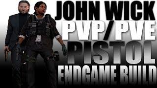 """John Wick"" Endgame PVP/PVE Pistol Build Guide - The Division 2"