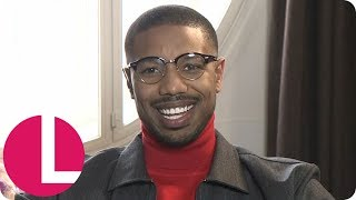 Hollywood Star Michael B Jordan Bulked Up for His Return in Creed II | Lorraine