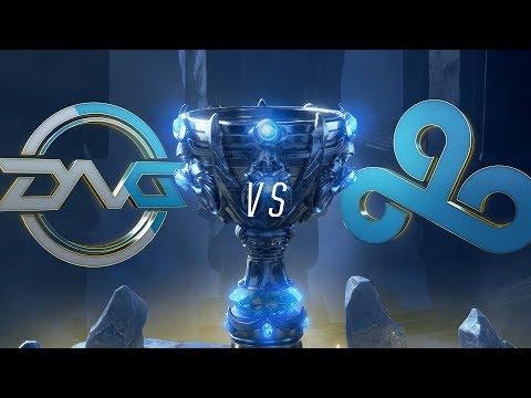 DFM vs. C9 | Play-In Groups | 2018 World Championship | DetonatioN FocusMe vs. Cloud9 (2018)