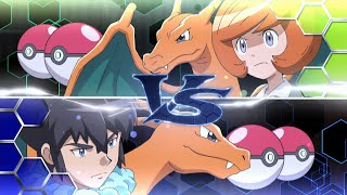 Alain vs Trevor [KALOS LEAGUE FULL FIGHT] - Pokemon XY&Z Episode 32