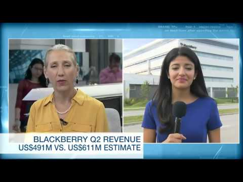 BlackBerry bets on Android's apps to buoy new Priv