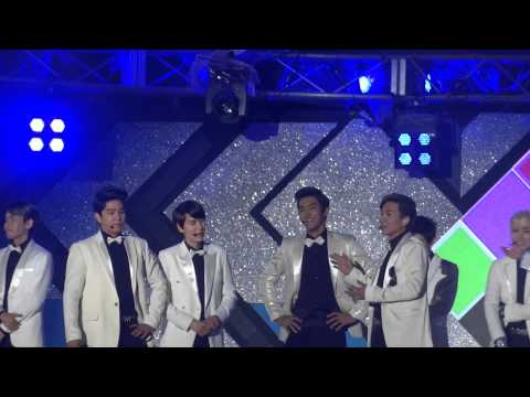 120813 - Super Junior - SPY + talk + SFS