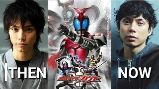 Then And Now Kamen Rider Kabuto Cast