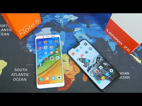 Что купить Xiaomi Redmi Note 5 или Lenovo Z5 в 2018 году?