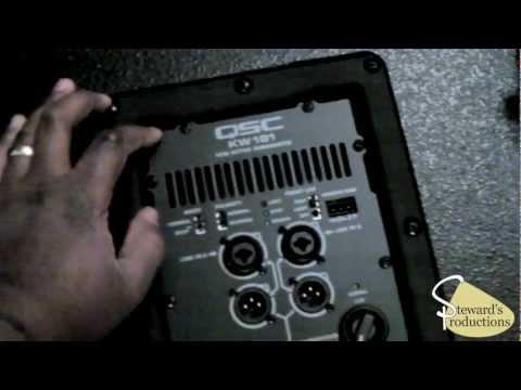 QSC Speakers - K12 and KW181 - Powered Speakers - DJ Speakers - PA Speakers.mov