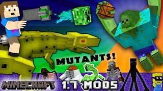 CHASE PLAYS MINECRAFT:  Mutant Creatures & Robo Dinosaurs w/ Chance Cubes (1.7 Mods w/ Zootopia Fox)