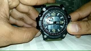How to Set Alarm in Skmei Watch.