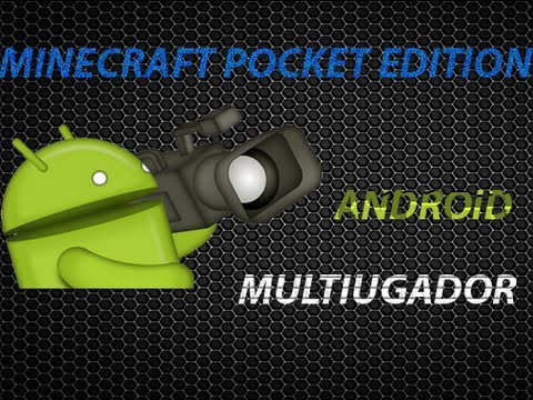 Como jugar minecraft pocket edition en multijugador/online Android y iphone