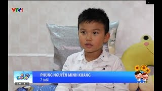 Bé biết tuốt Minh Khang | Vì Tầm Vóc Việt | Phóng sự chủ đề Du học sớm