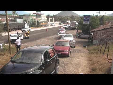 Novena peregrinación de Grueros de Jalisco al Cerrito de Zacoalco